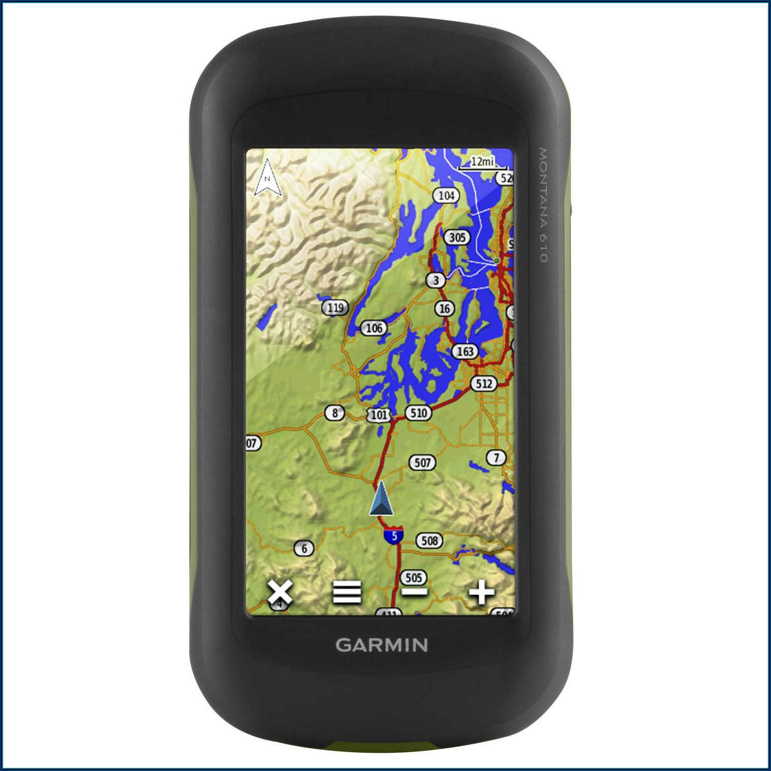 Montana 610 Gps Maps