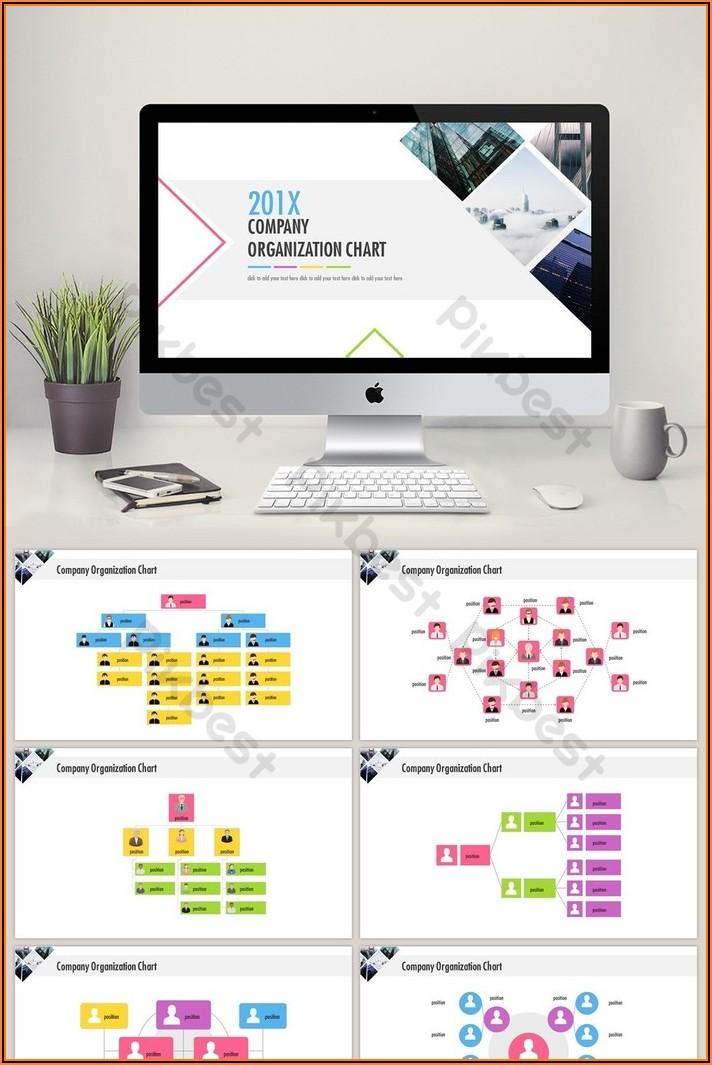 Organization Chart Powerpoint Template Free