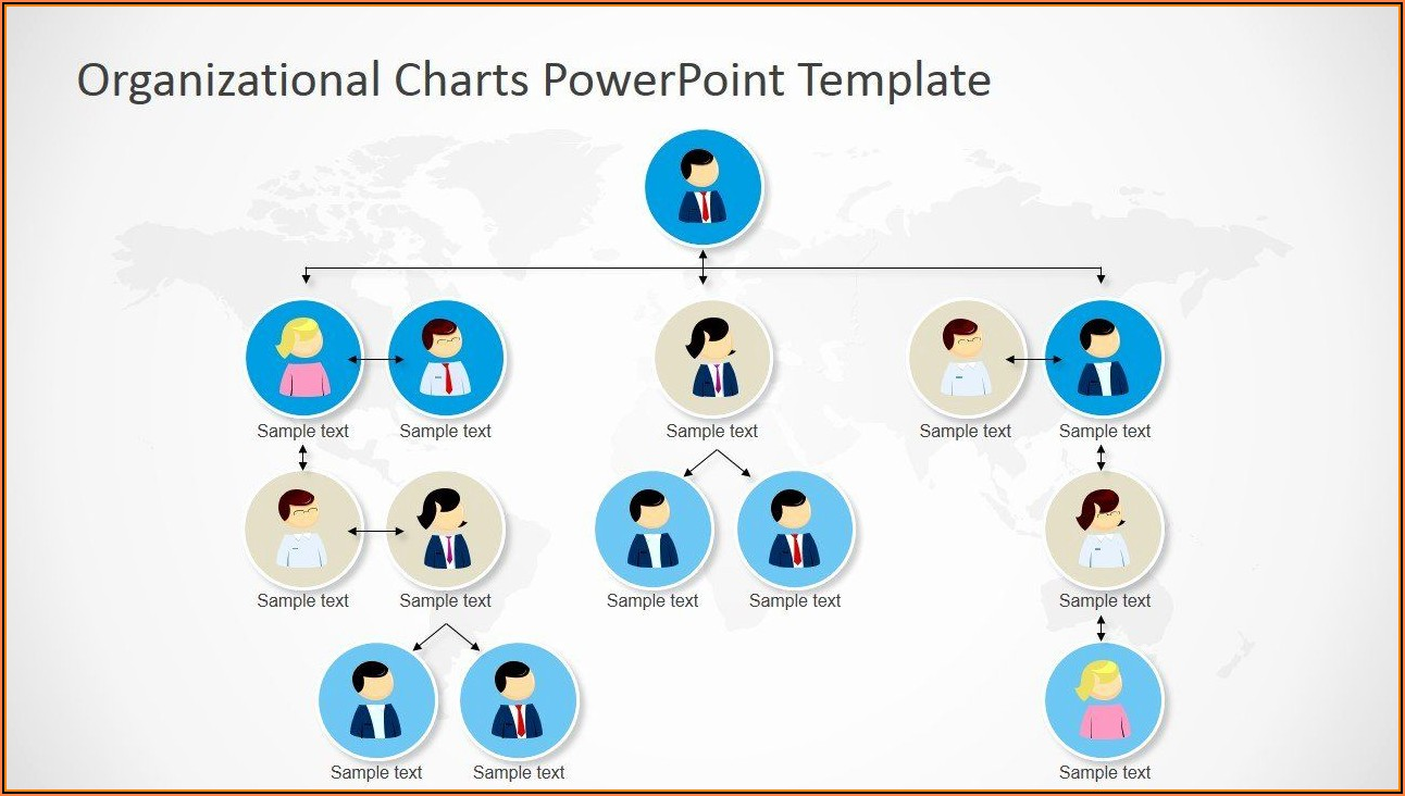 Organizational Chart Powerpoint Template Free