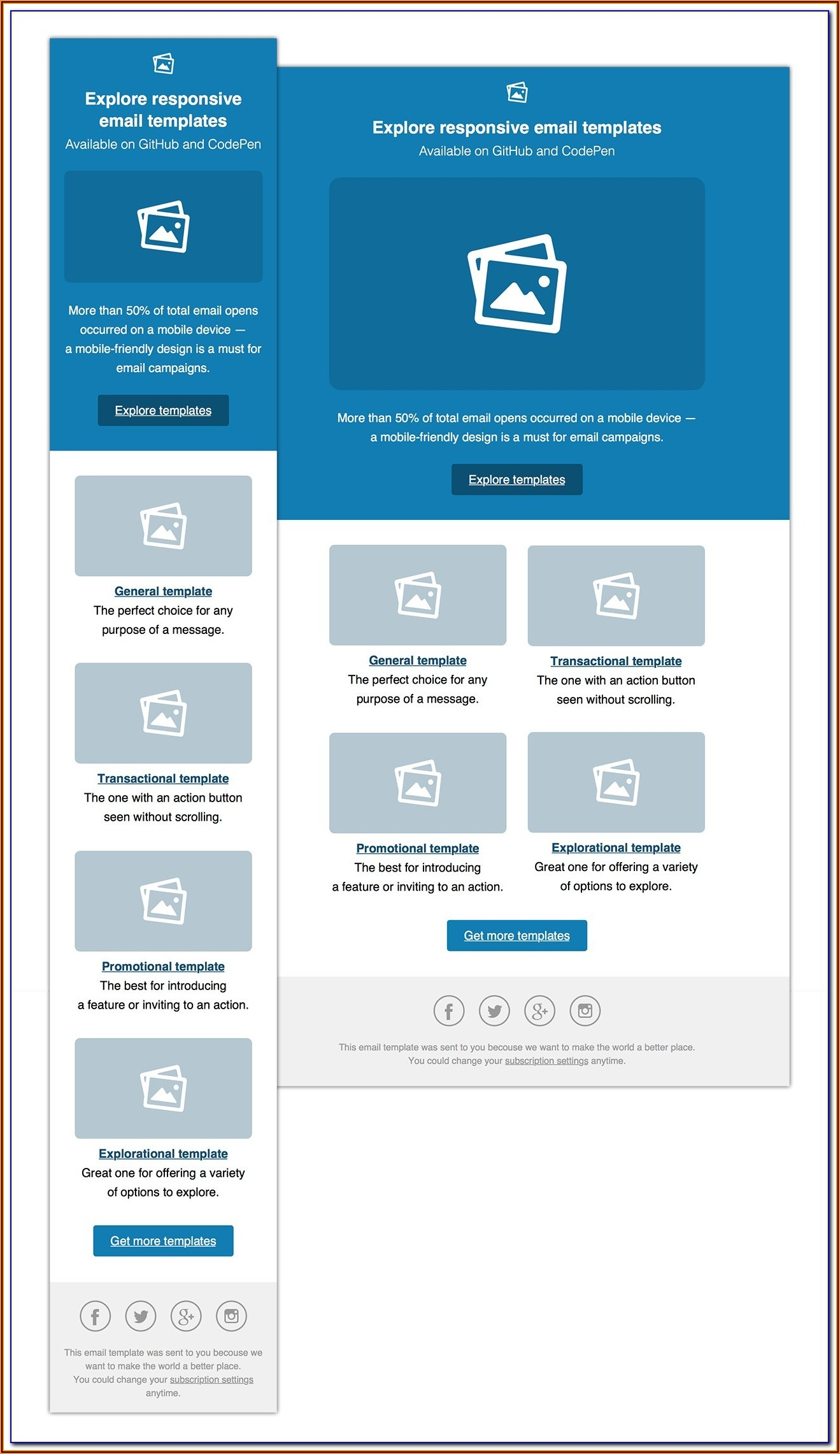 Outlook Email Newsletter Template Download