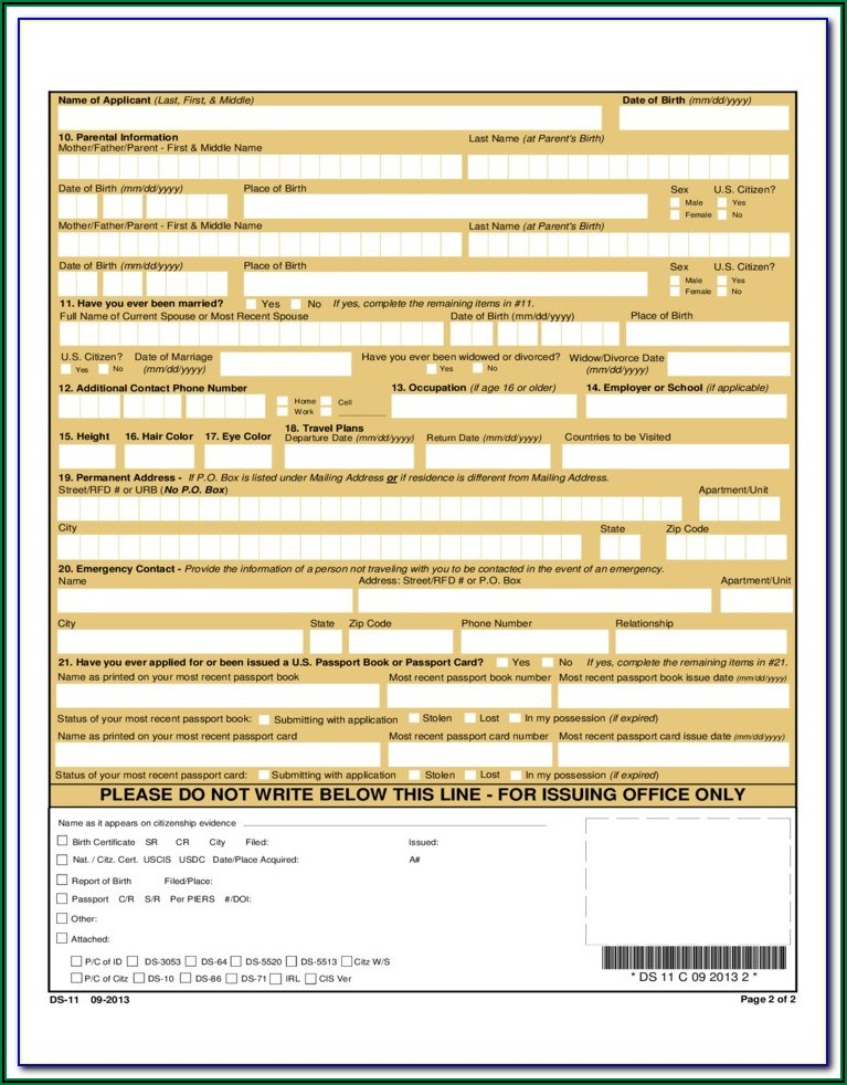 Passport Renewal Application Form Philippines