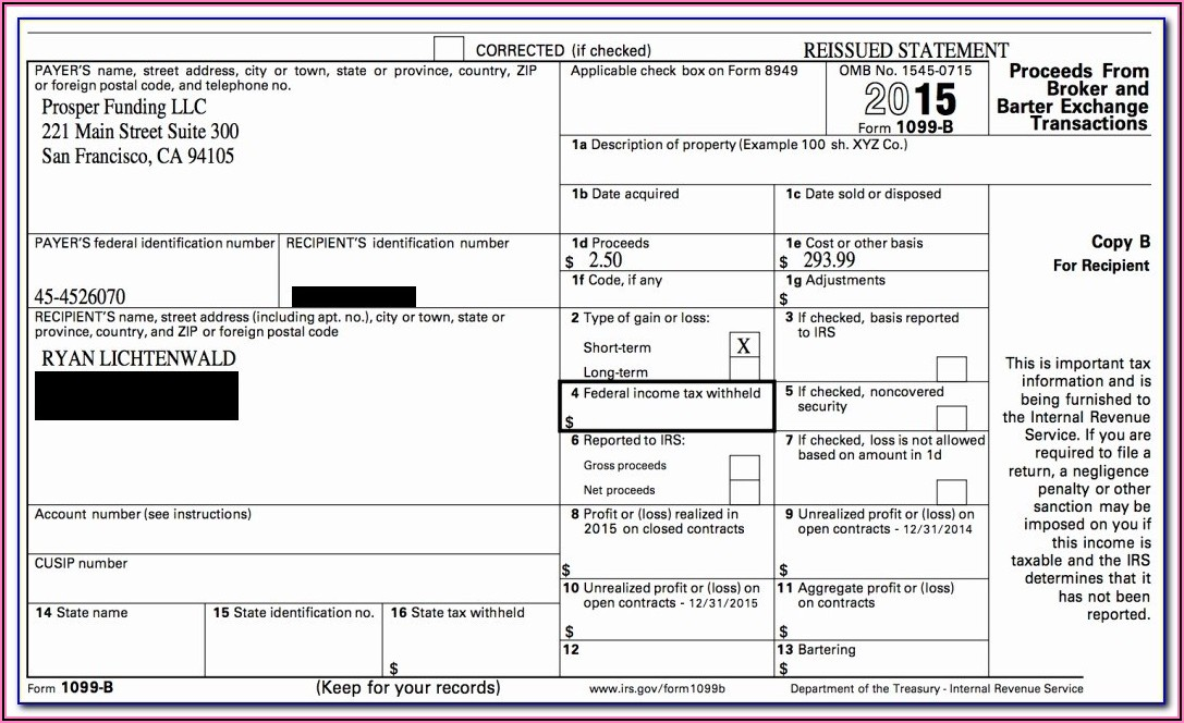 Printable 1099 Misc Forms
