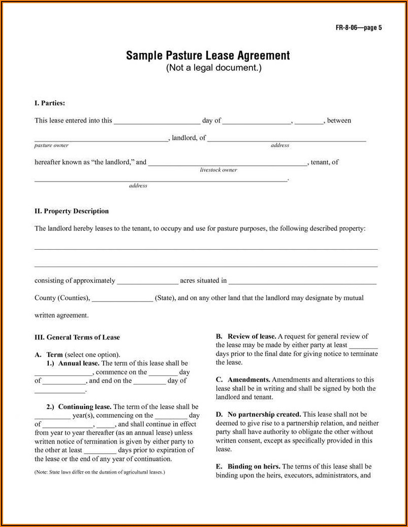 Printable Rv Rental Agreement Template