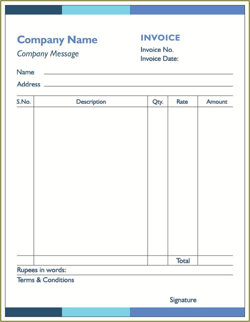 Printed Invoice Books Vistaprint