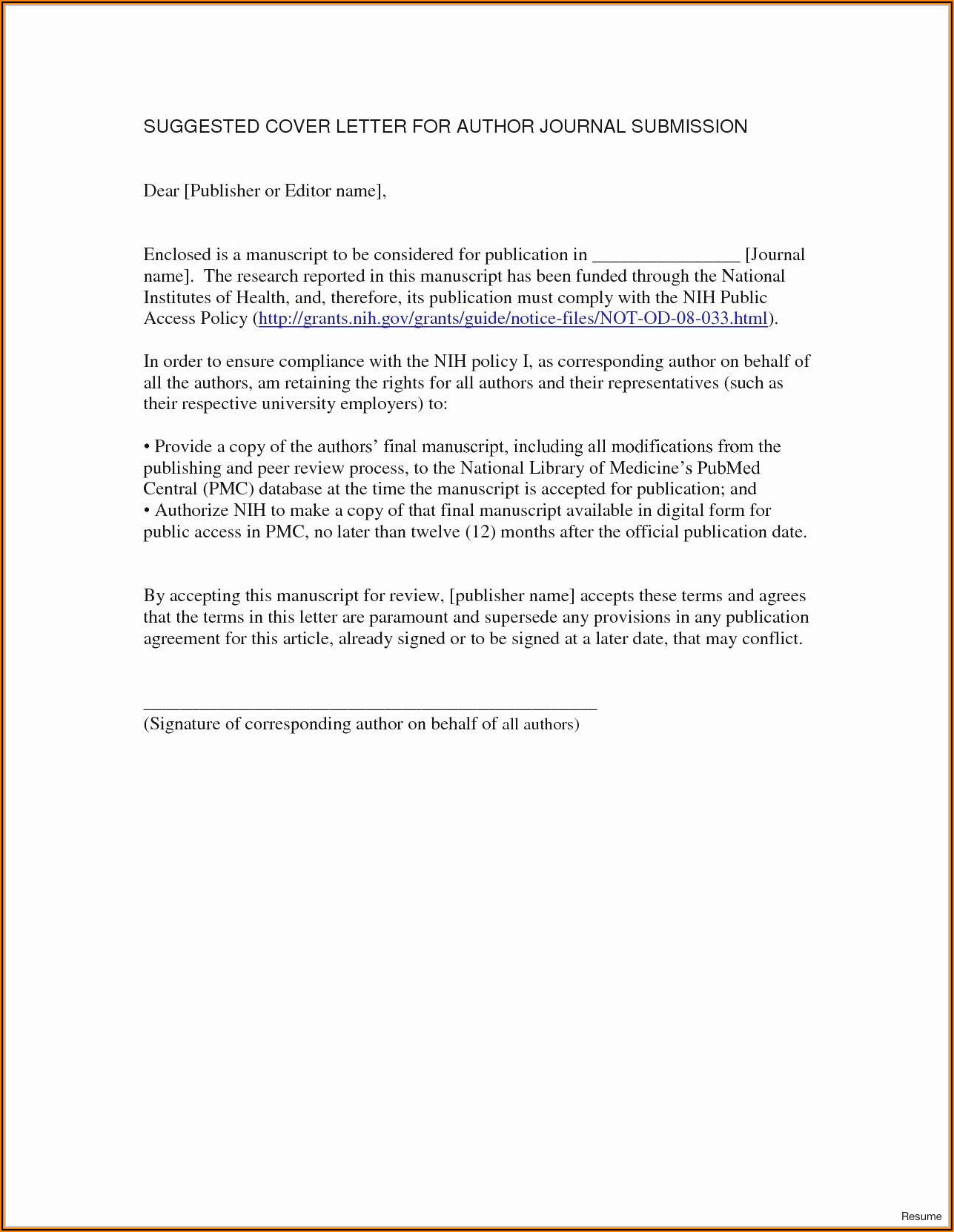 Purchase Order Agreement Template