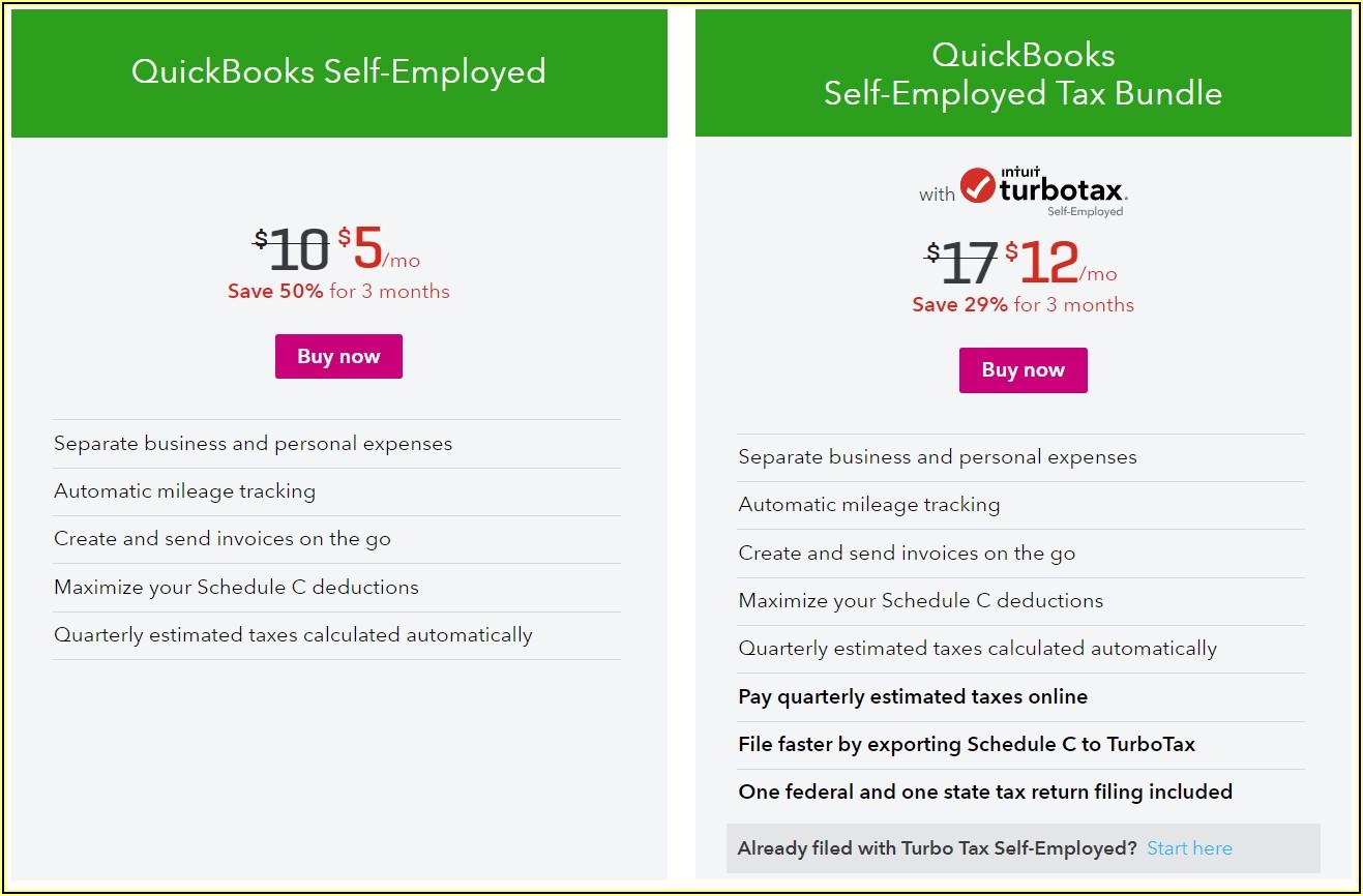 Quickbooks Self Employed Invoices
