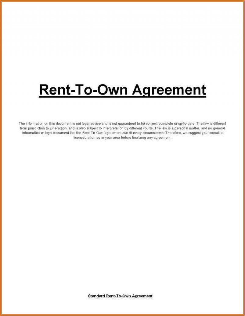Real Estate Lease Option Agreement Form