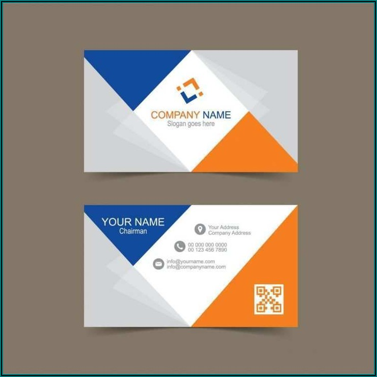 Rounded Corner Business Card Template Illustrator