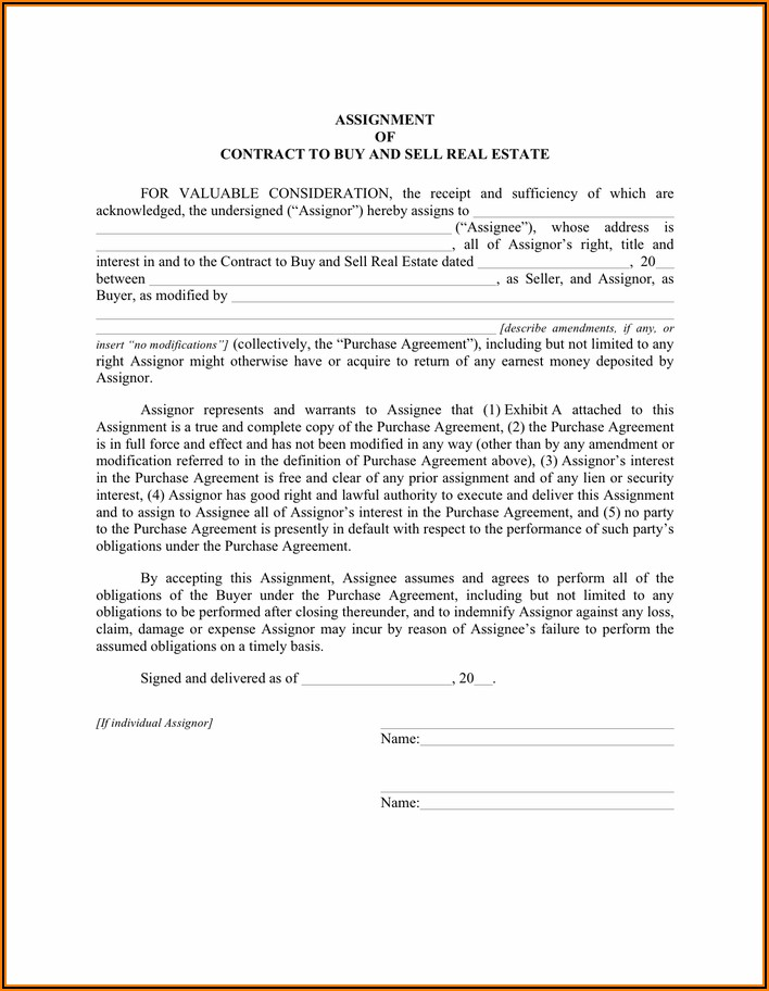 Sales Contract Template Free