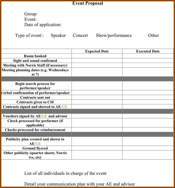Service Proposal Template Free Download