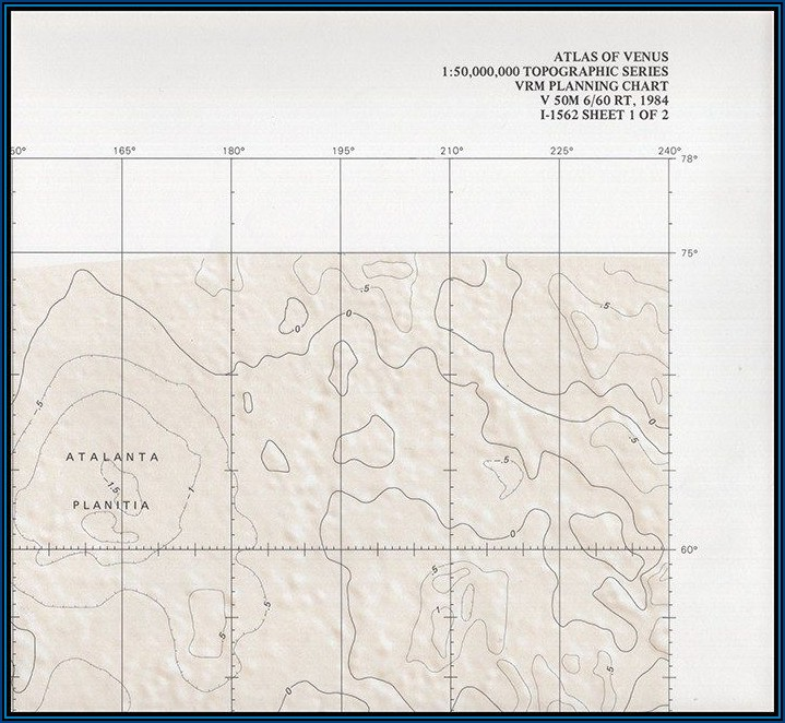 Shaded Relief Topographic Maps