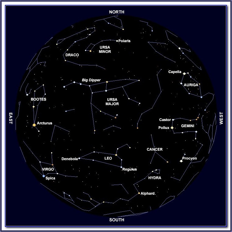 Star Map Astronomy App