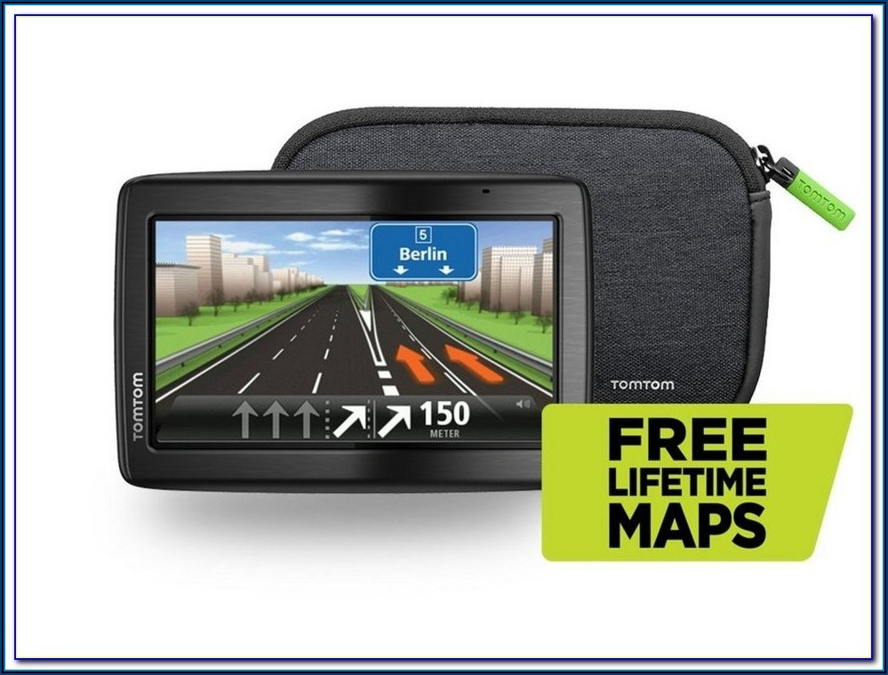 Tomtom Free Lifetime Maps Via 135