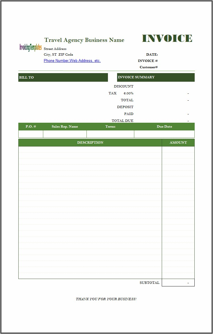 Transport Bill Format In Word Free Download
