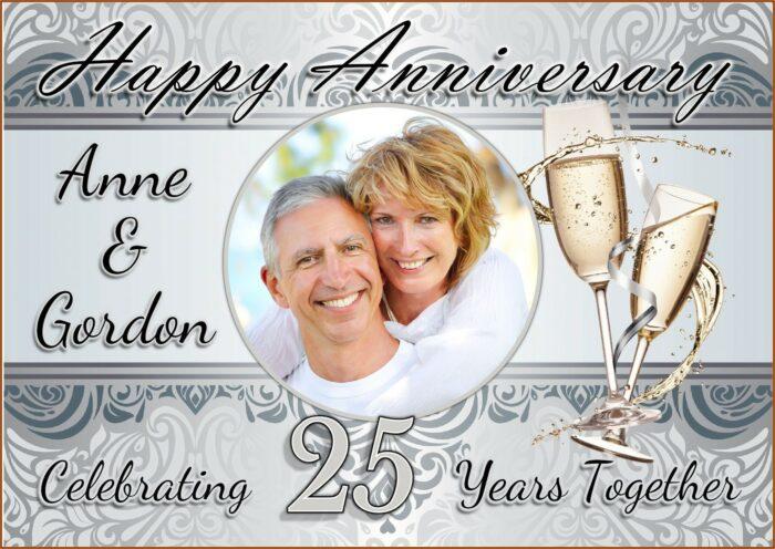 Wedding Anniversary Invitation Template Online