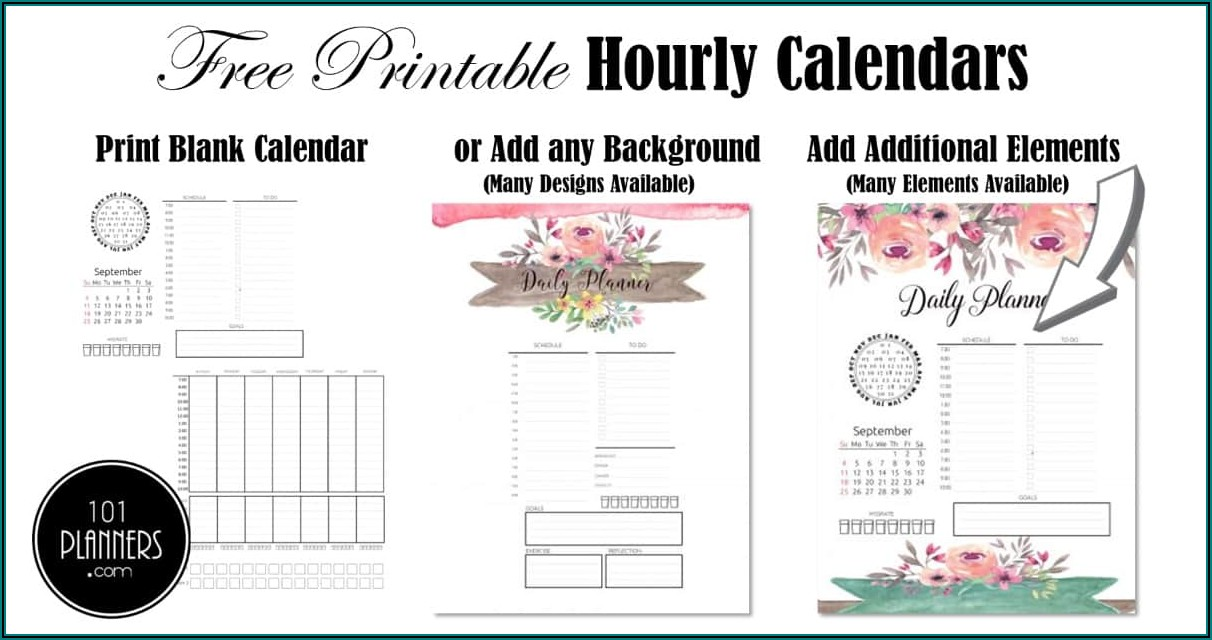 Weekly Monthly Planner Printable
