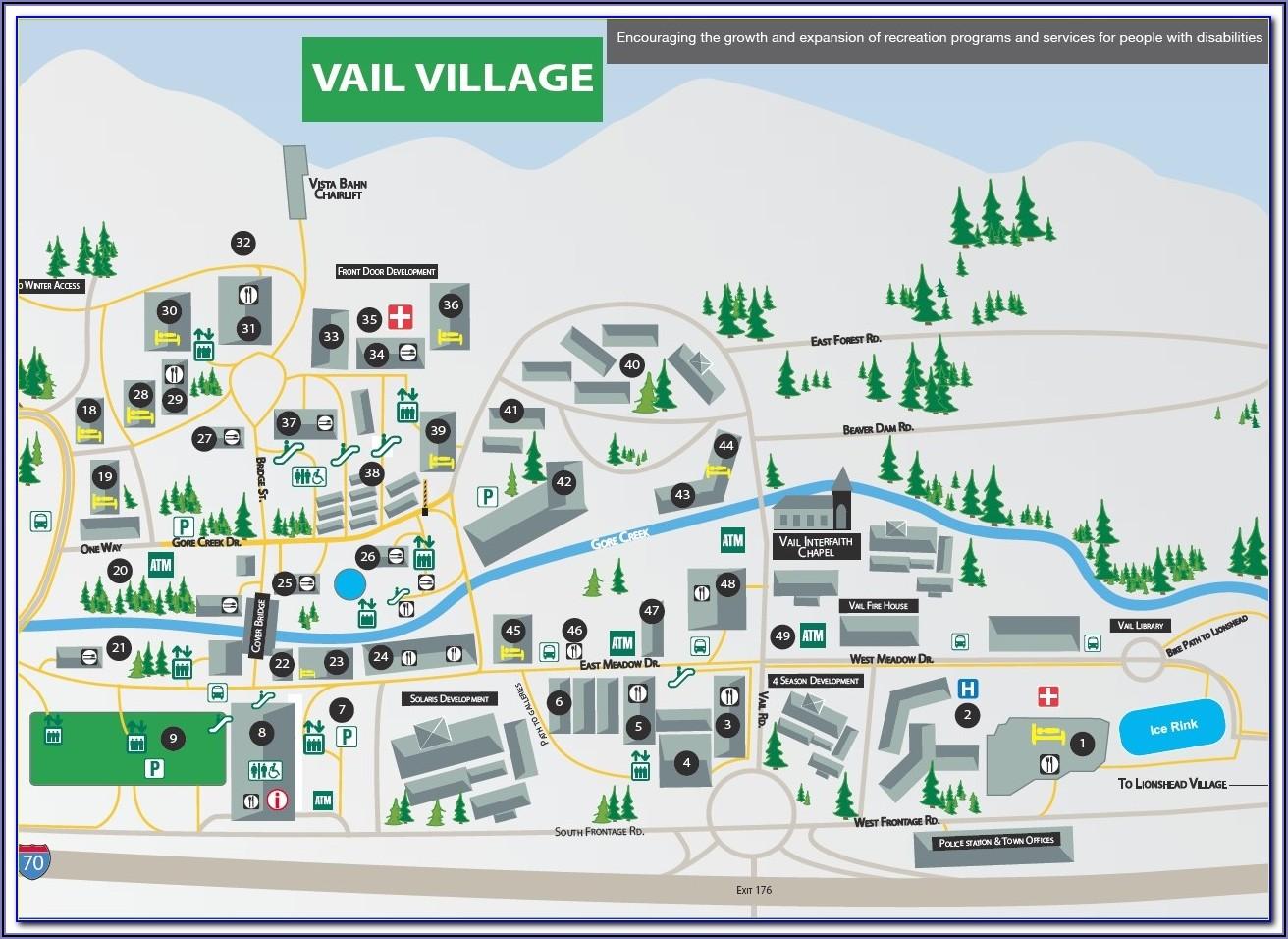 Whistler Lodging Map