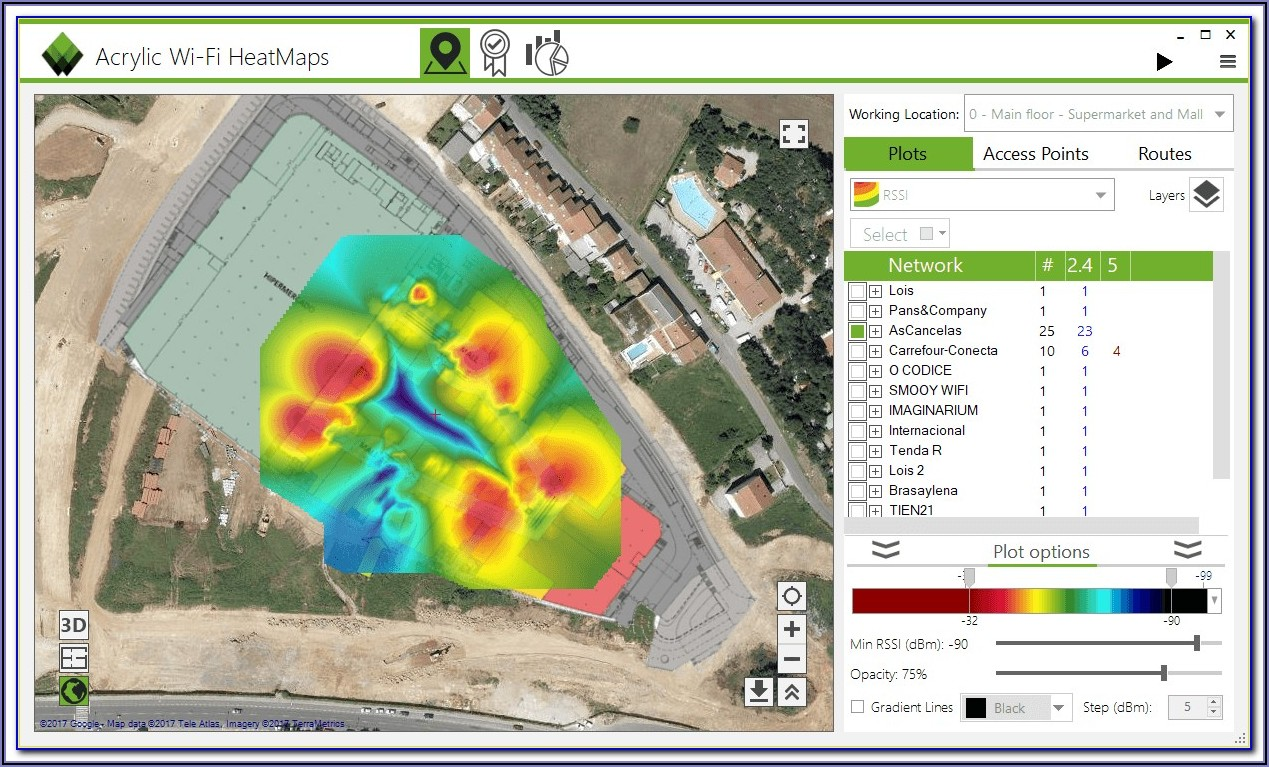 Wireless Heat Map Software Free