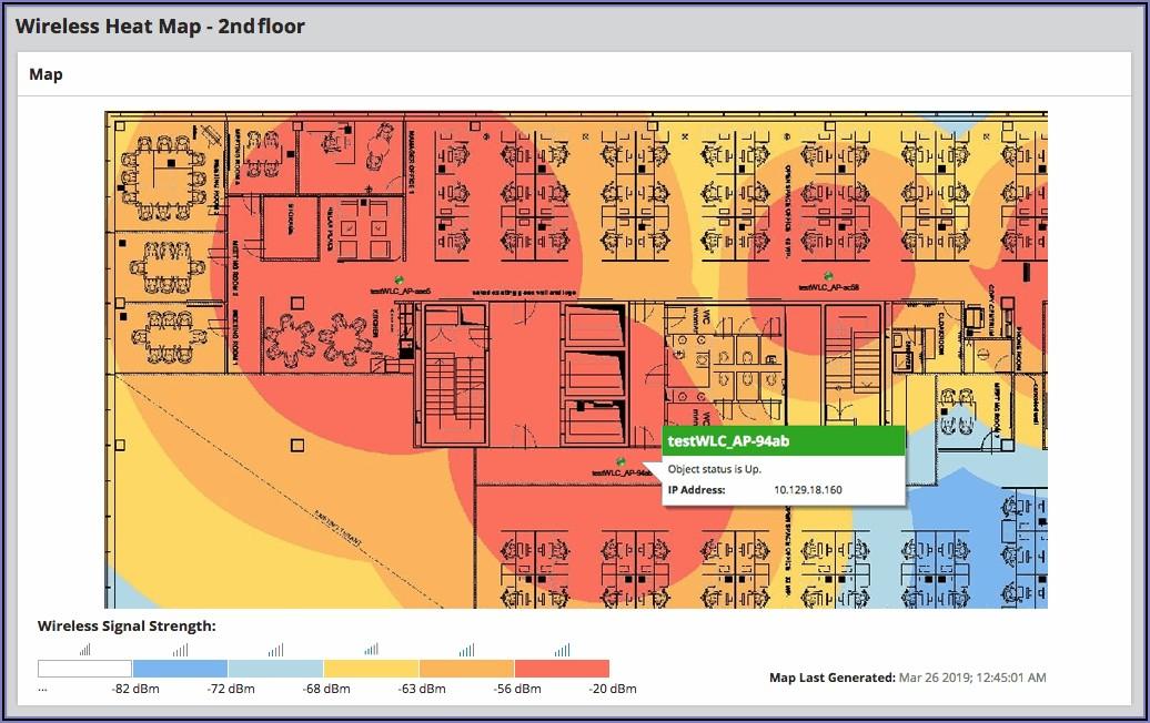 Wireless Heat Map Software