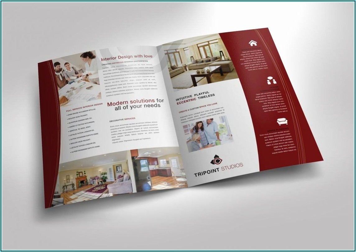 11x17 Half Fold Brochure Template Word