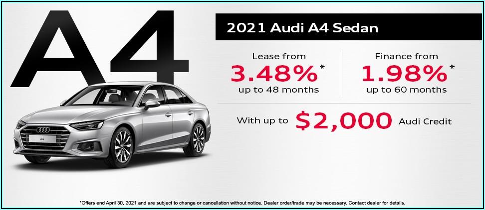 2019 Audi A4 Brochure Canada