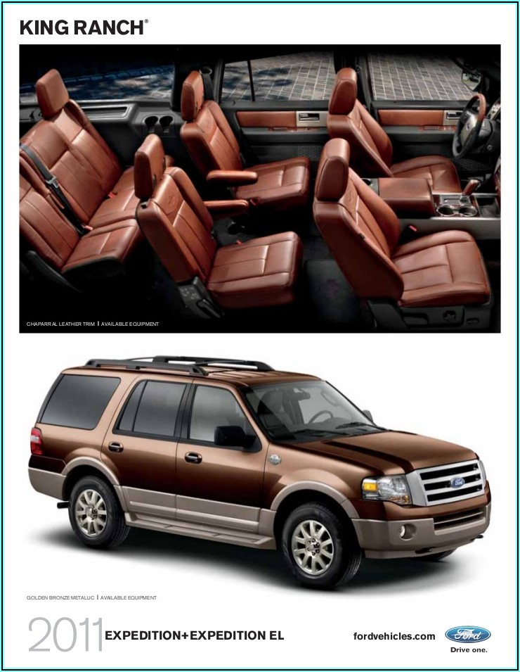 2019 Ford Expedition Xlt Brochure