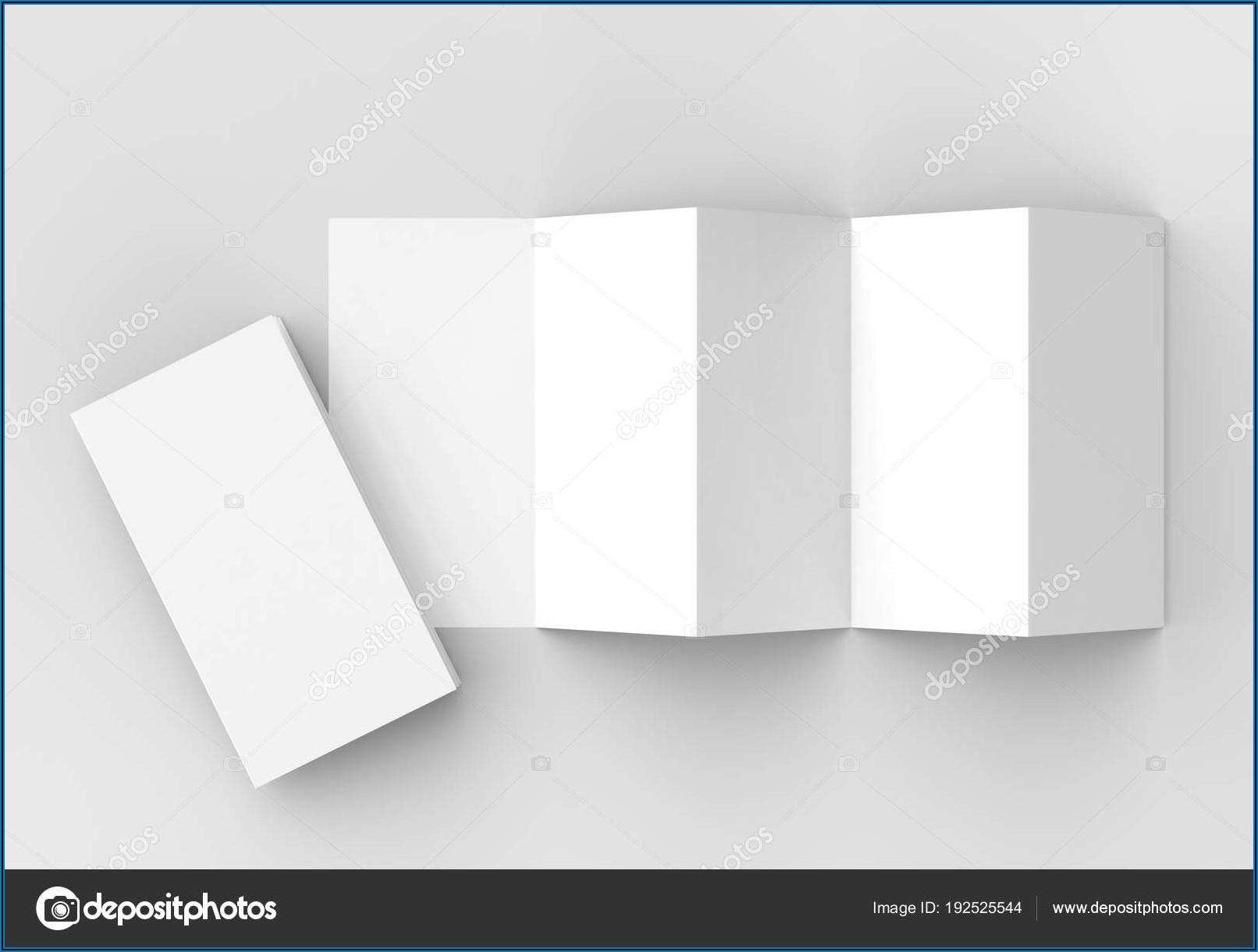 5 Panel Accordion Fold Brochure