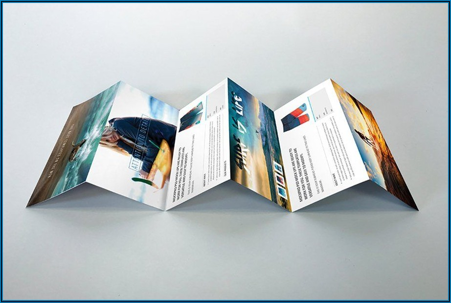 6 Panel Accordion Fold Brochure