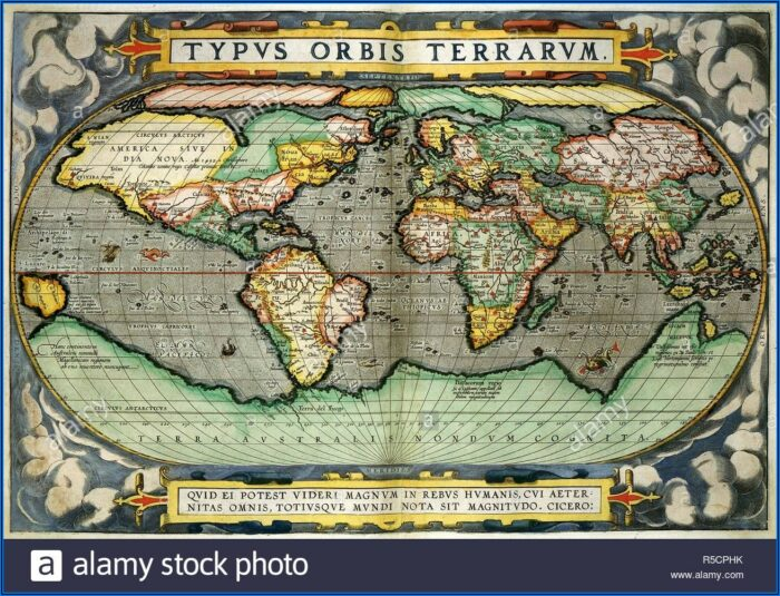 Abraham Ortelius World Map