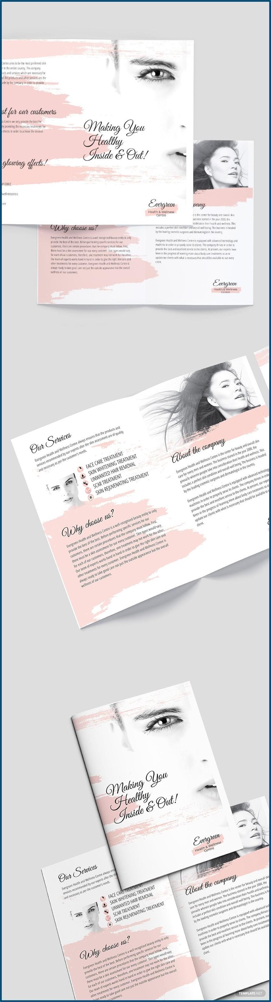 Accordion Fold Brochure Template Word