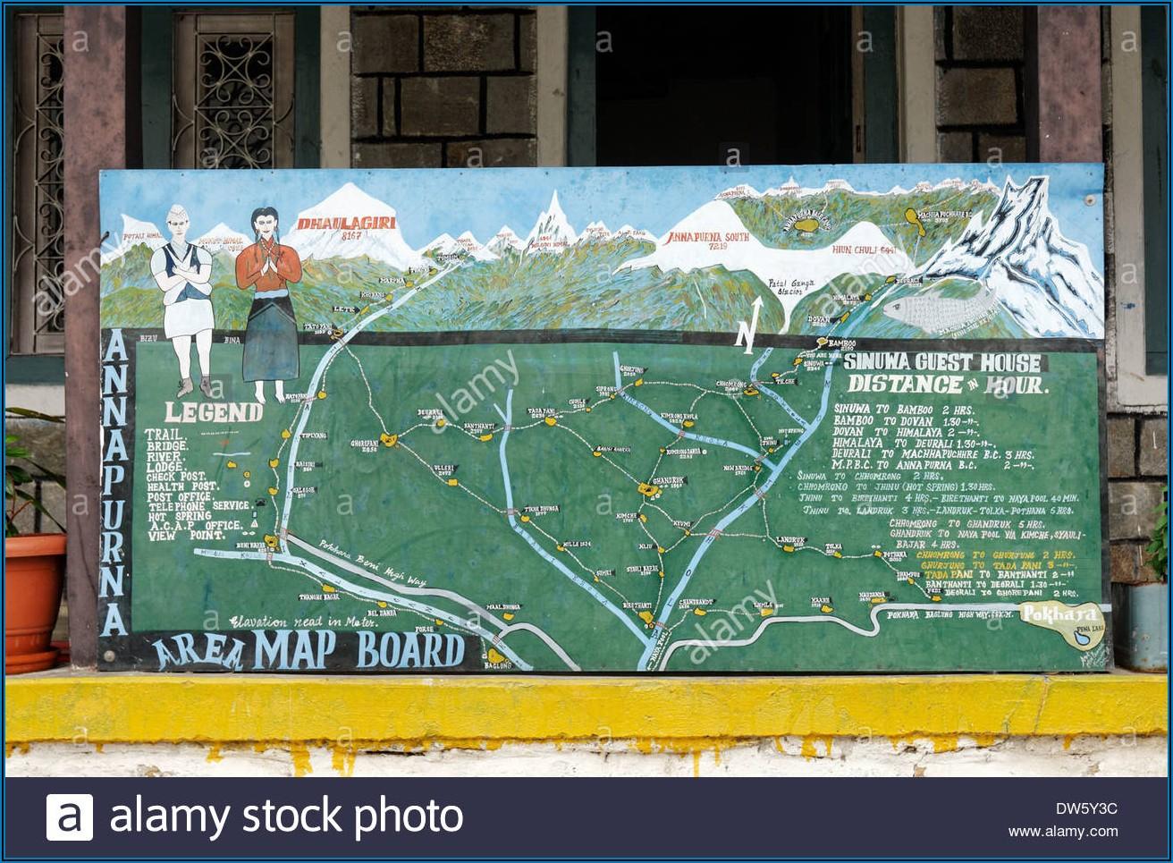 Annapurna Trekking Maps