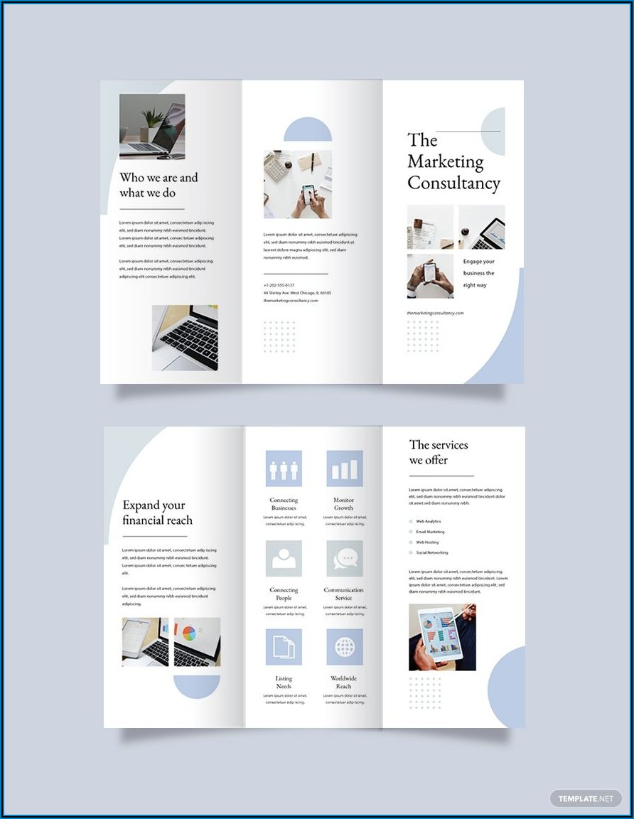 Apple Pages Brochure Template Free