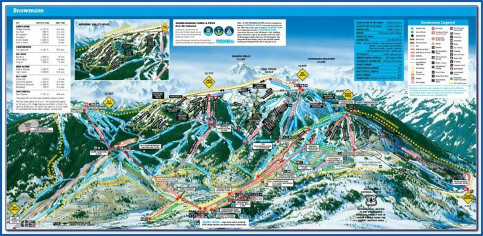 Aspen Hotel Map