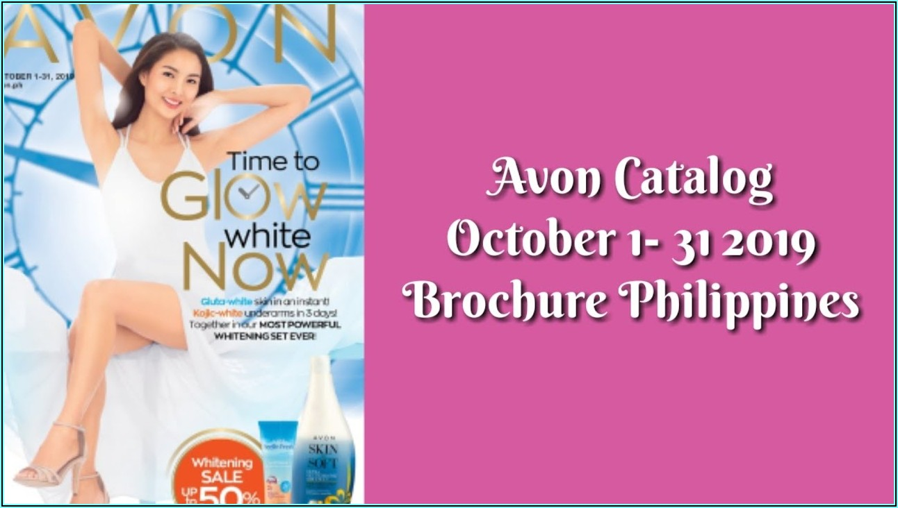 Avon Brochure September 2019 Pdf Philippines
