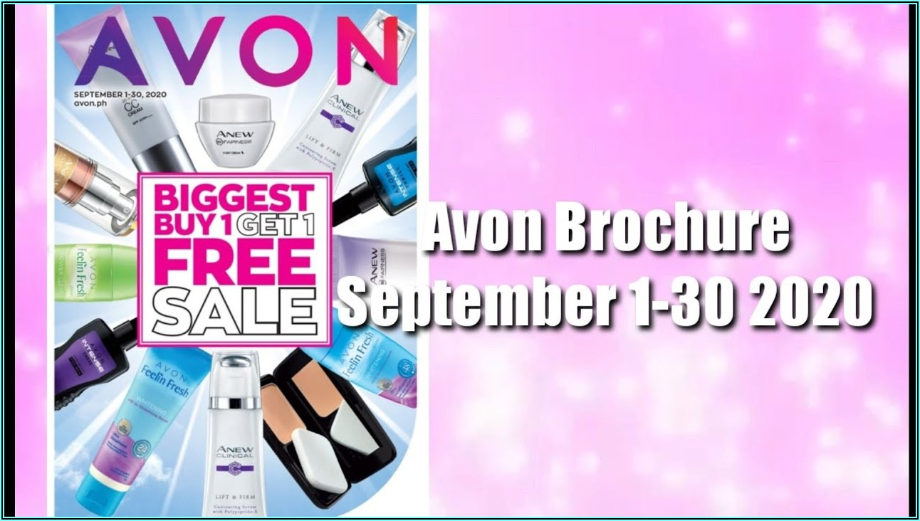 Avon Brochure September 2019 Ph