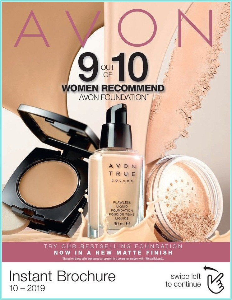 Avon Brochure September 2019 Uk