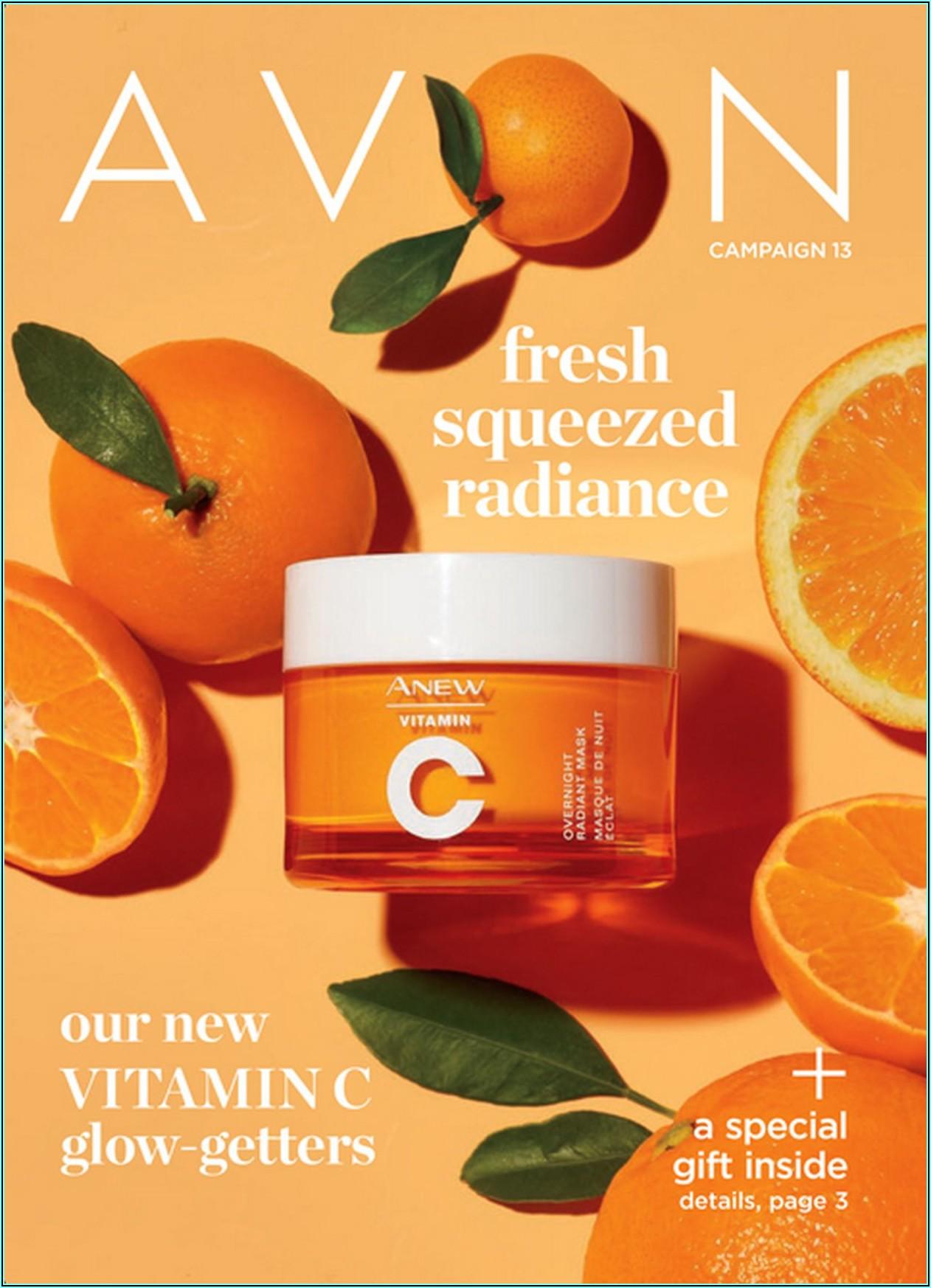 Avon Usa Catalogue Online