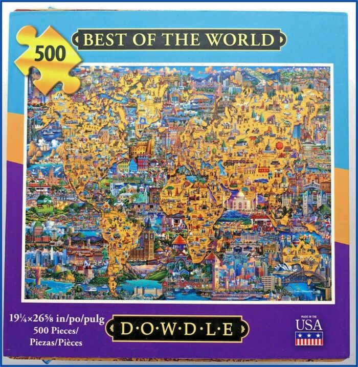 Best Map Of The World Jigsaw Puzzle