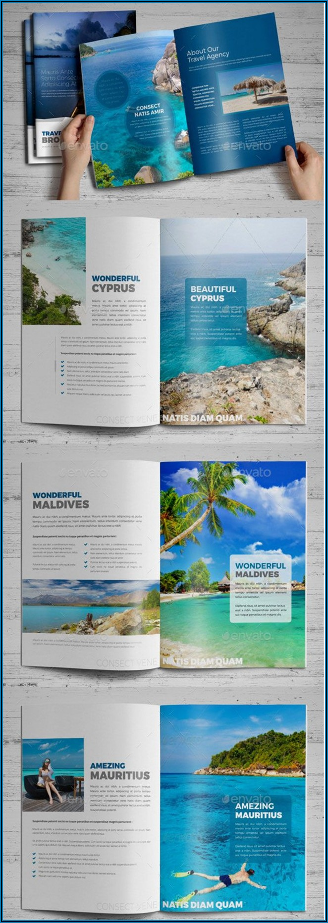 Best Tourism Brochure Design