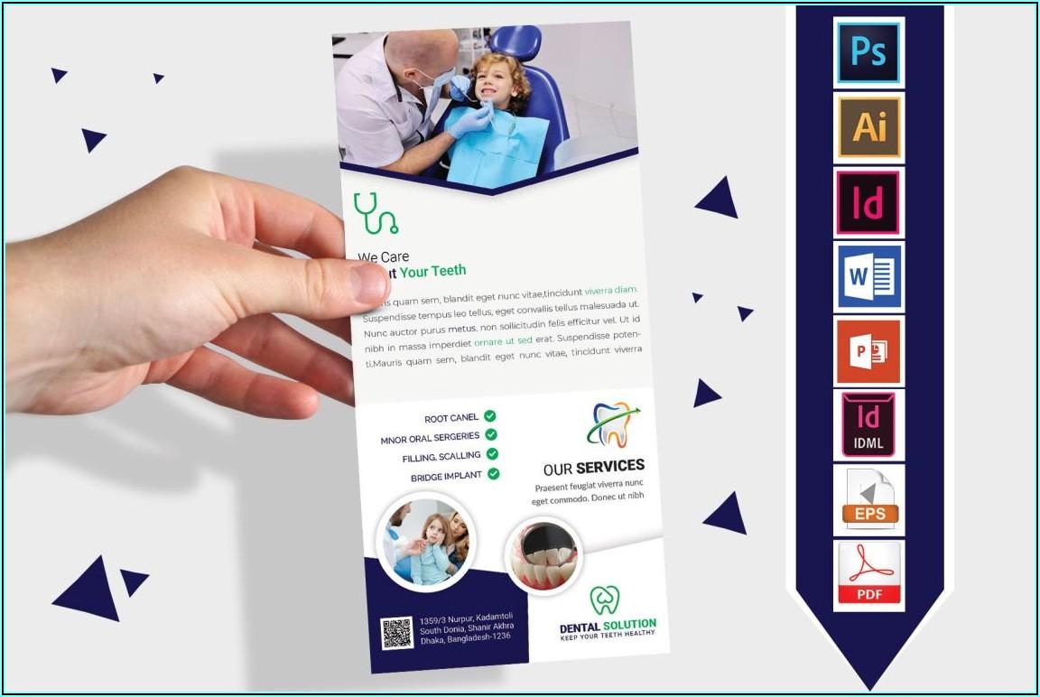 Bi Fold Brochure Mockup Psd Free Download