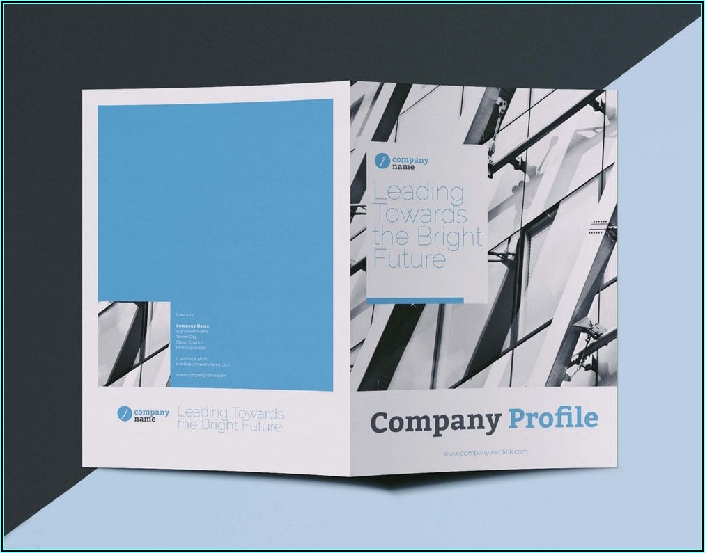Bi Fold Pamphlet Template Microsoft Word