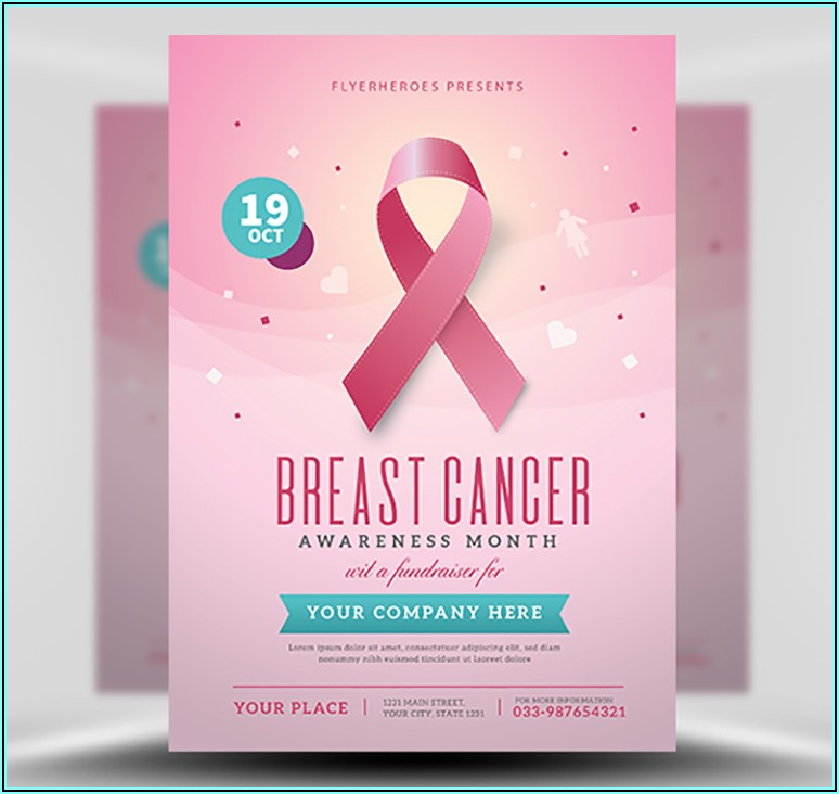 Breast Cancer Awareness Brochure Templates