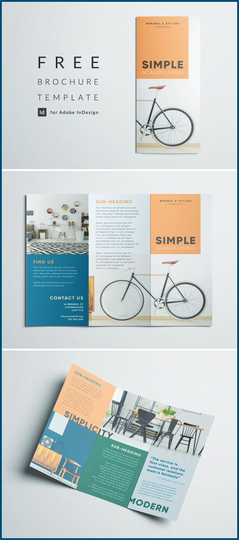 Brochure Design Templates Free Download Indesign