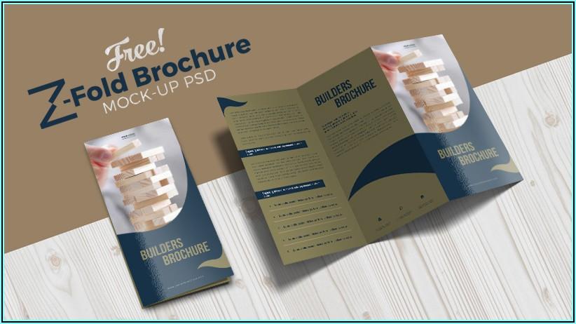 Brochure Mock Up Free