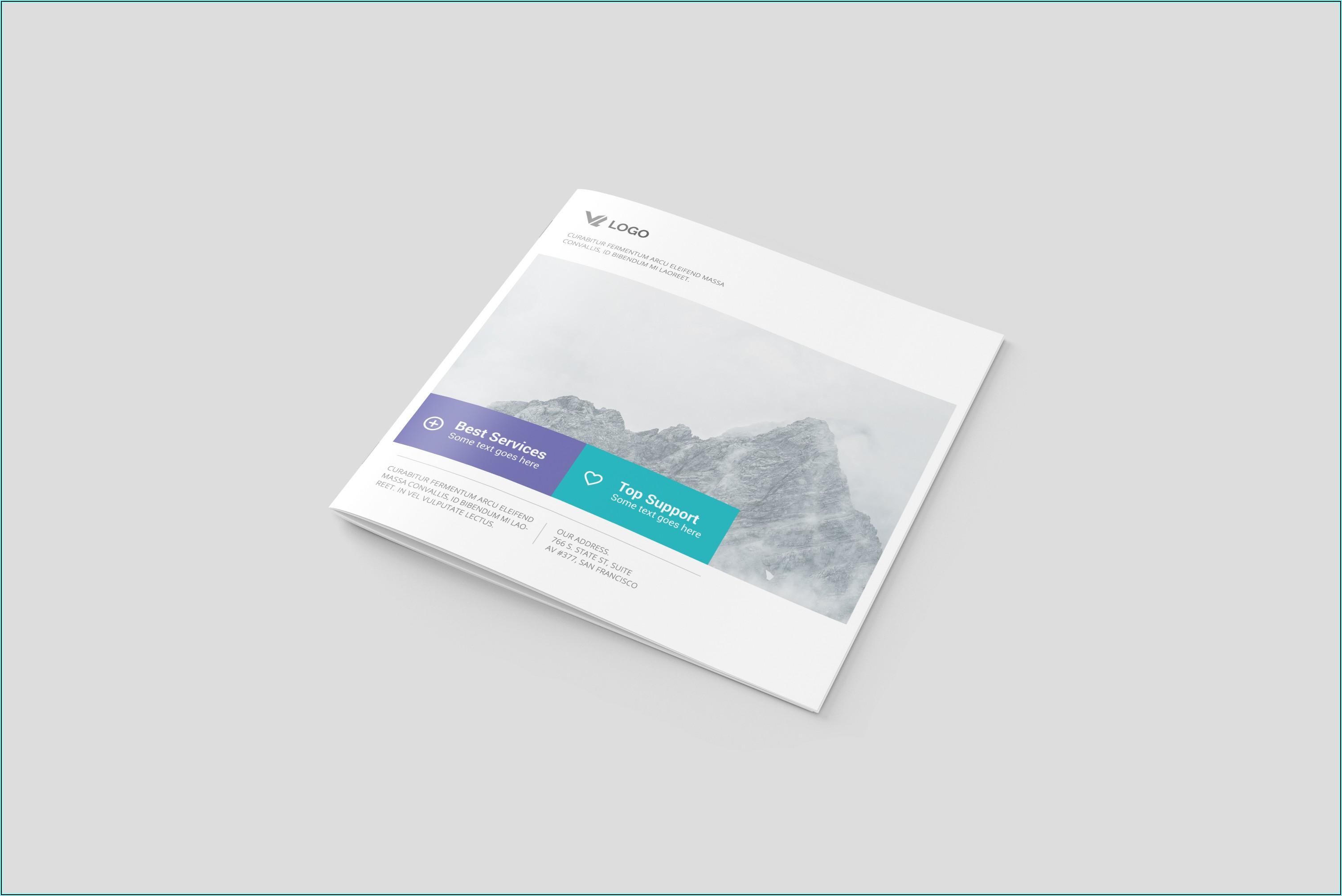 Brochure Mock Up Psd Free Download