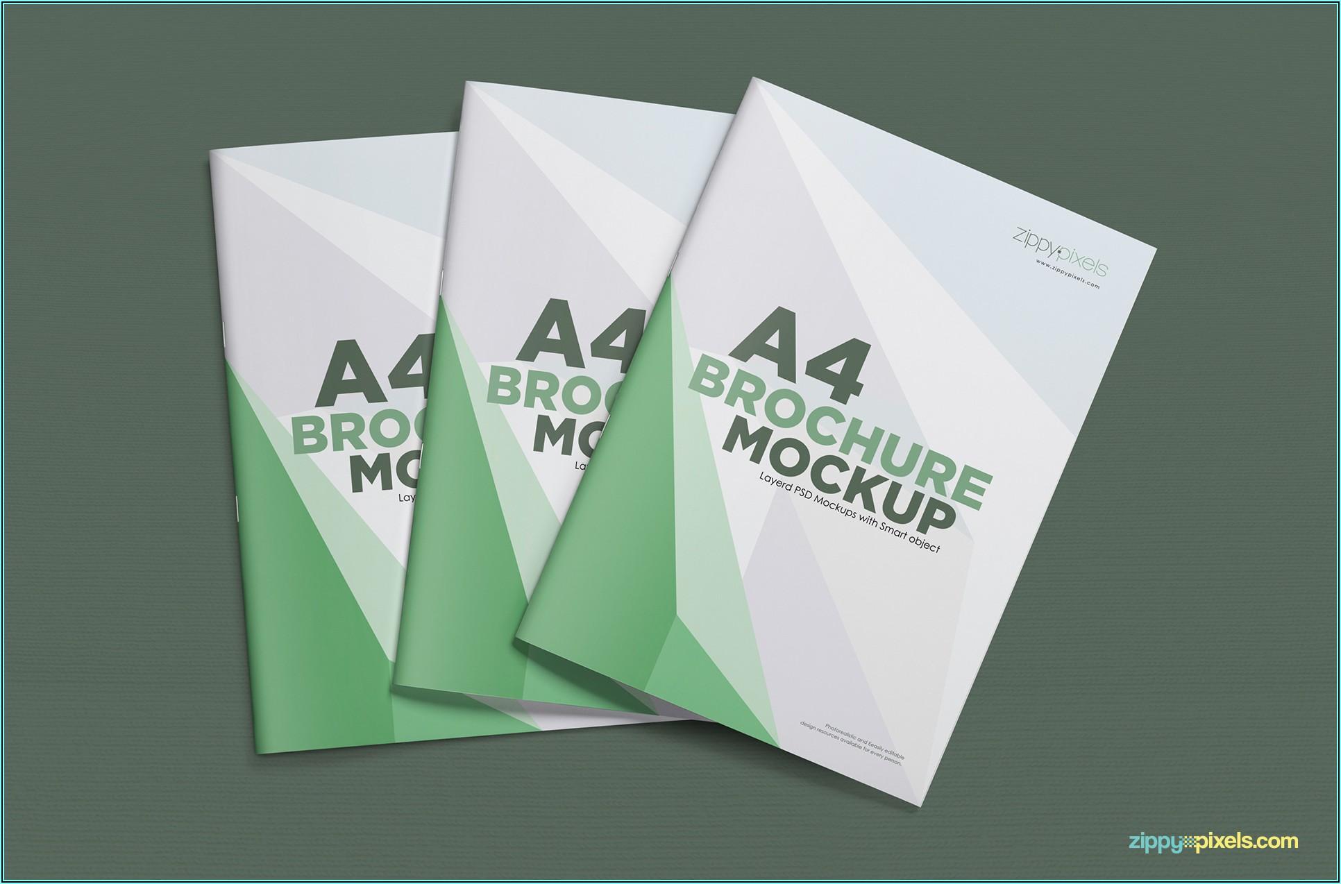 Brochure Mockup A4