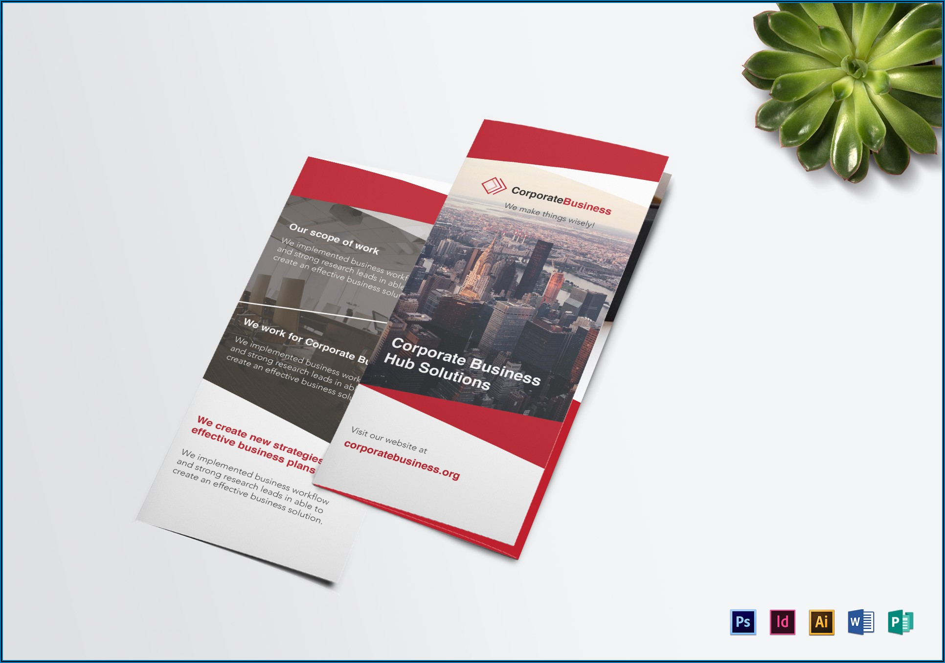 Business Brochure Template Publisher