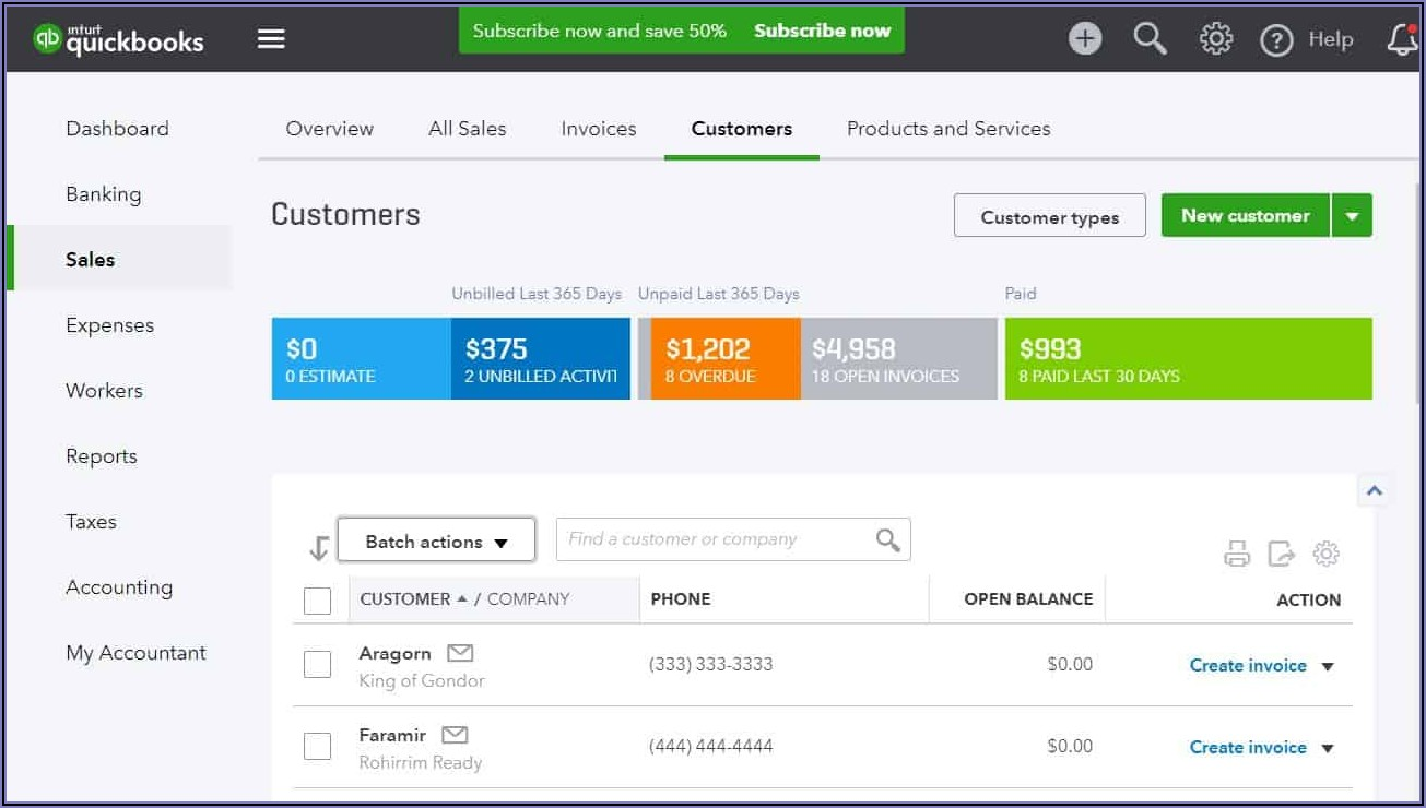 Can You Import Invoices In Quickbooks Online Plus