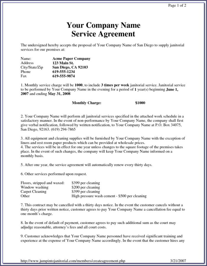 Carpet Cleaning Invoice Template Downloads