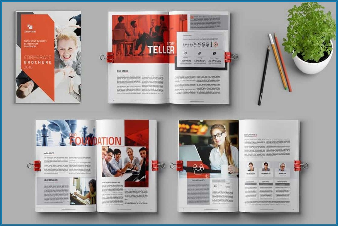 Corporate Brochure Design Templates